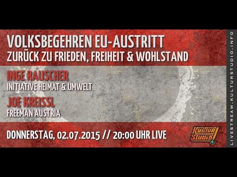 Volksbegehren EU-Austritt  - Zurück zu Frieden, Freiheit & Wohlstand | KT No.112