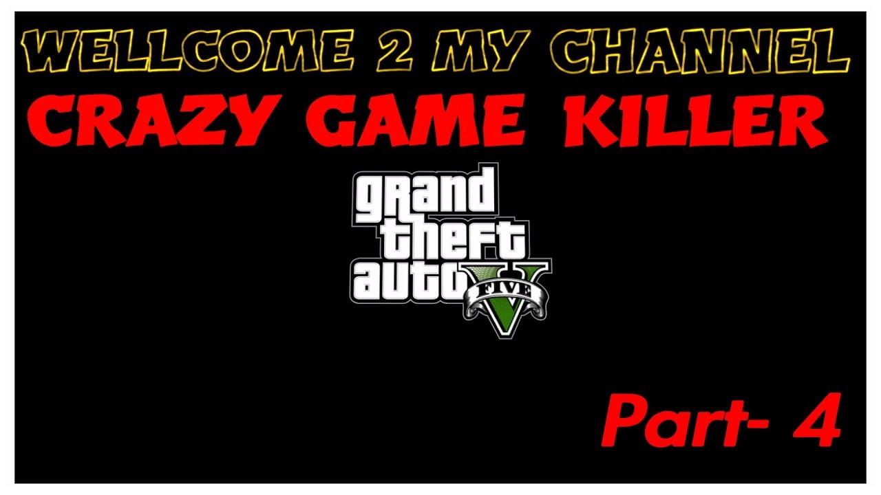 GTA 5 game walkthrough in Tamil | part- 4  | Crazy game killer | Tamil