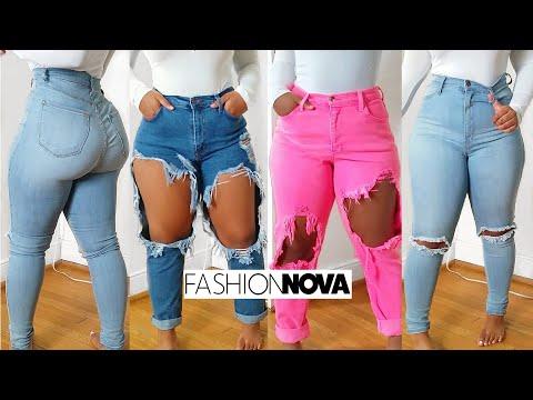 Fashion Nova Curve jeans try on haul | Spring Denim hit or miss?!