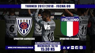 Sportivo Barracas vs Sportivo Italiano full match