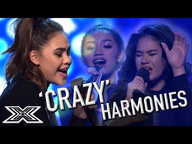 Girl Group Audition for X Factor Australia with Crazy Harmonies | X Factor Global