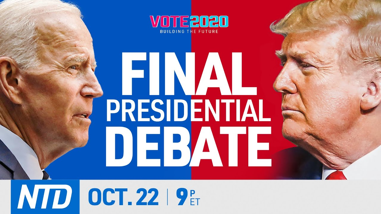 LIVE: Final 2020 presidential debate between Trump and Biden | China in Focus