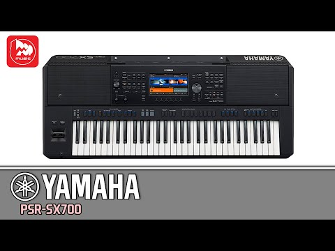 YAMAHA PSR-SX700 - музыкальная рабочая станция с автоаккомпанементом