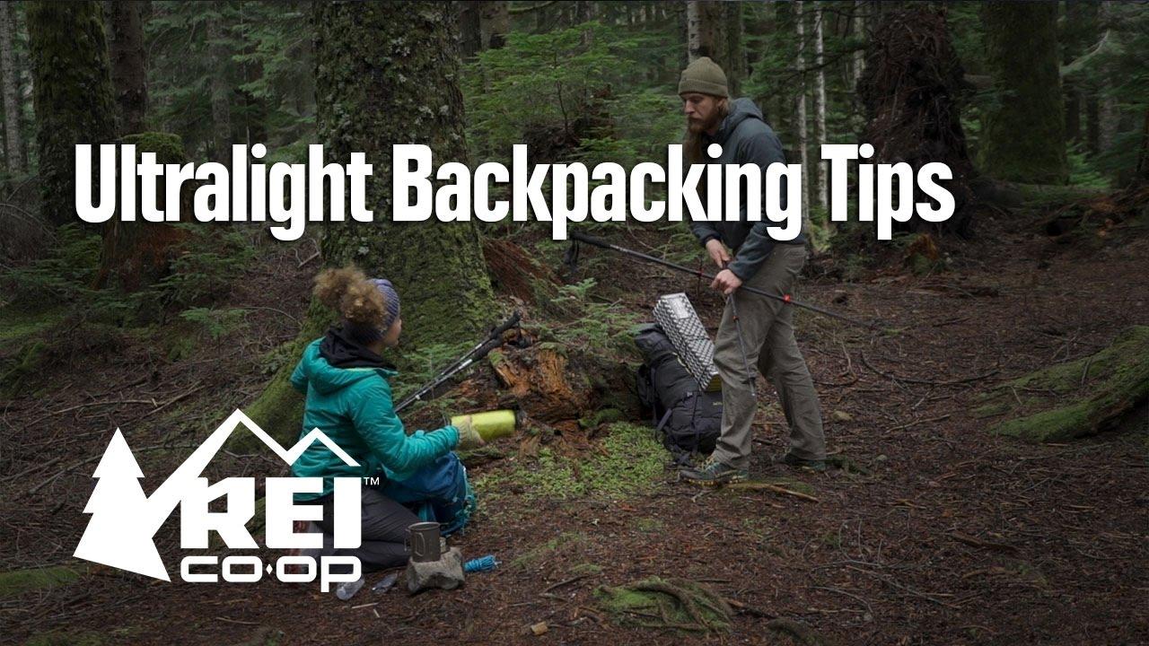 Ultralight Backpacking Tips