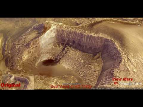 🔥Mars Valles Marineris Is Really A Huge Glacier Water Run Off  In NASA Faked Colored Images! Look!