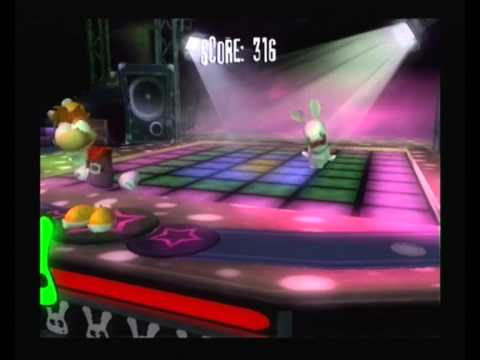 Rayman Raving Rabbids : Bunnies Love Disco Dancing
