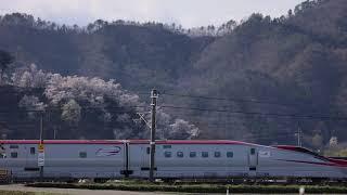 秋田新幹線 在来線走行 201904_b