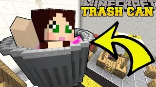 Minecraft: TRAPPED IN A TRASH CAN!!! - FIND THE LOST - Custom Map