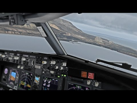 Real 737 Pilot LIVE | ZIBO MOD 737 | Oslo - Svalbard | Midnight Sun Approach | X-Plane 11