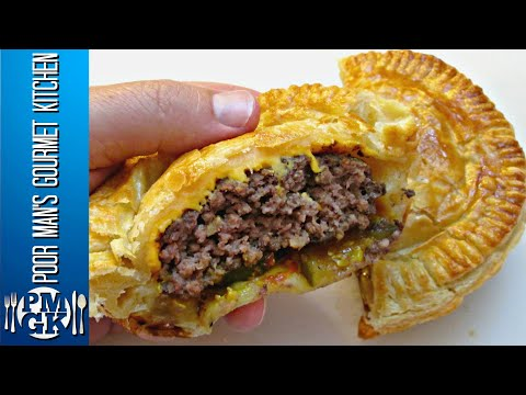 Cheese Burger Pot Pie - Beef and Cheese Pot Pie Recipe - PoorMansGourmet