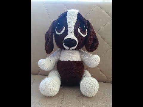 Crochet Amigurumi Puppy Dog PATTERN ONLY, Jack Pup, pdf Stuffed ... | 360x480