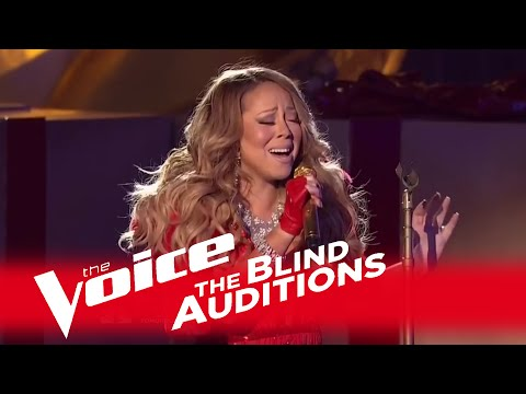 The Voice 2014  Mariah Carey Blind Audition: All I Want For Christmas Is You