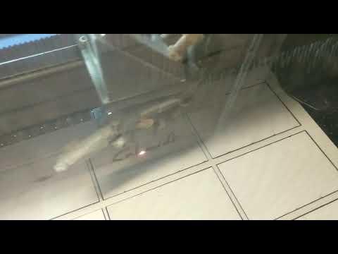 Visitenkarte Aus Holz Laser Cut Lasergravur Youtube