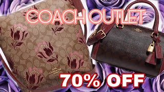 Coach Outlet Sale Shopping 70% Off Online and at Coach Outlet Store