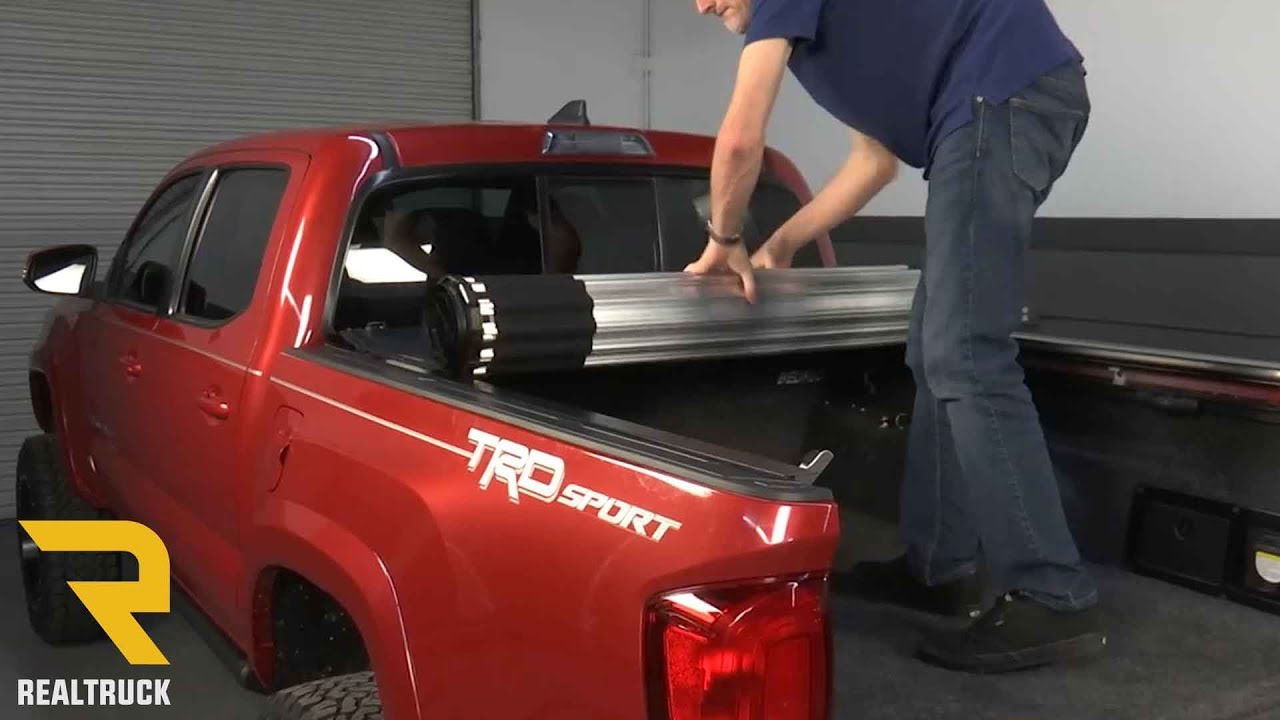 How To Install Bak Revolver X2 Tonneau Cover On A 2016 Toyota