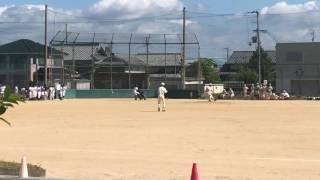 小野南中学校 野球部 2017.5.28 鹿島中学校 打撃1