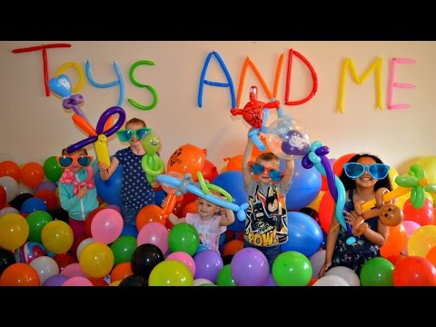 1000 BALLOONS TOY CHALLENGE! FROZEN ANNA,ELSA,OLAF,SPIDERMAN | Toy Prizes
