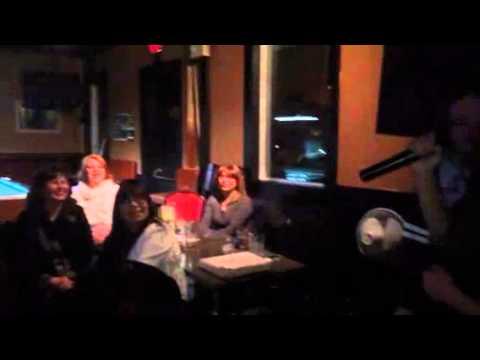 Karaoke night in Edmonton