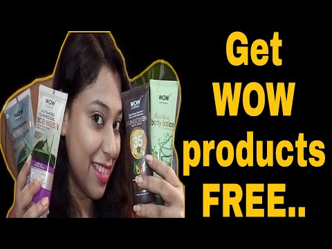 Get #WOW products FREE/Use my coupon code & Link/shiwitalks