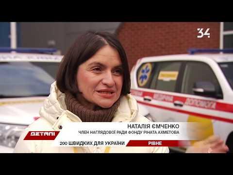 Как врачам Украины работается на новых машинах скорой помощи?