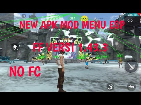 NEW APK MOD MENU ESP - FREE FIRE 1.43.3 - 동영상