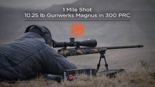 Gambar cover 1 Mile Shot | 10.25 lb. Gunwerks Magnus in 300 PRC