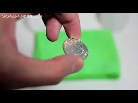 How To Remove PVC Damage From Coins Using Acetone