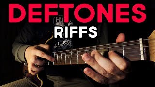 TOP 10 DEFTONES RIFFS