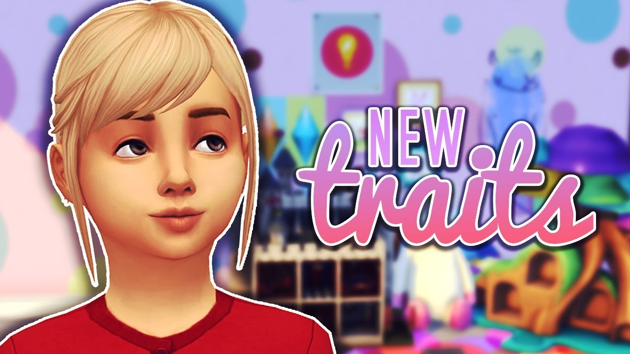8 NEW TRAITS FOR CHILDREN || The Sims 4 Mods