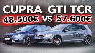 VW GOLF GTI TCR vs SEAT LEON CUPRA 290 | Motorsport für die Straße! Fahr doch