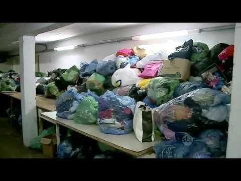 RS: Ladrões roubam roupas que seriam doadas para a Campanha do Agasalho