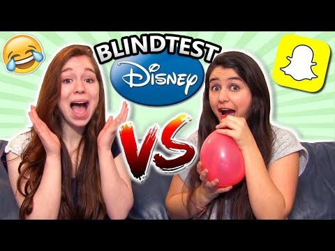 BLINDTEST DISNEY AVEC HÉLIUM - CHALLENGE ft Miss Jirachi
