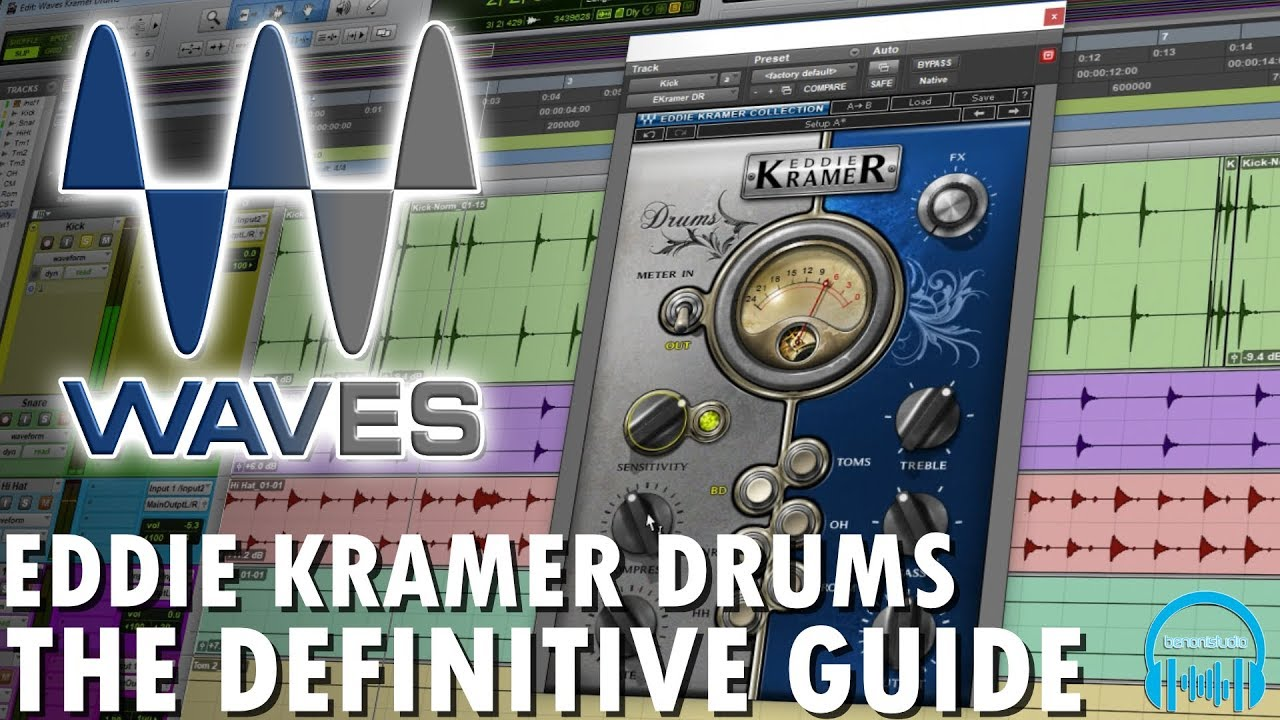 Waves Eddie Kramer Drums - The Definitive Guide - benonistudio