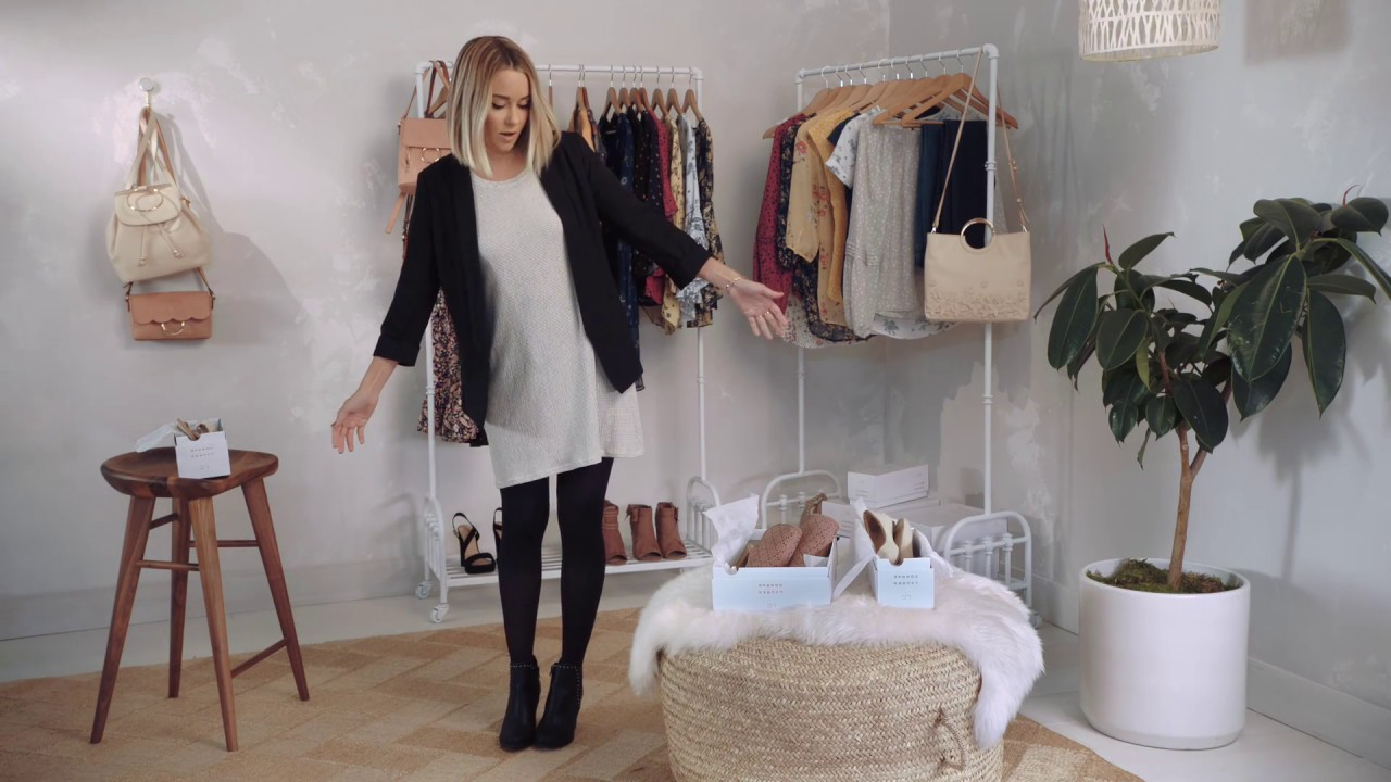361c7e9056d61 How to Layer a Summer Dress with Lauren Conrad