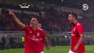 Goal | Golo Seferovic: Tondela 1-(2) Benfica (Liga 18/19 #10)