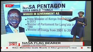 PROFILE OF NASA PENTAGON: The Life of Raila Odinga in Kenyan politics