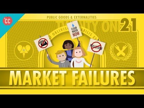 Market Failures, Taxes,