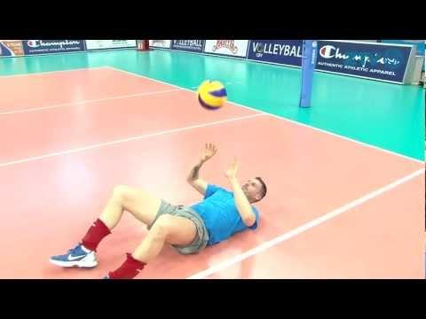 Как правильно пасовать в волейболе