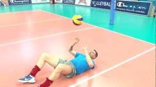 Мастер-класс. Валерио Вермильо. Как правильно пасовать в волейболе / How to pass in volleyball