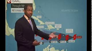 Caribbean Weather - Thursday September 13th 2018