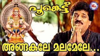 അങ്ങകലെ മലമേലേ | Angakale Malamele MG Sreekumar | Poonkettu | Ayyappa Devotional Songs Malayalam