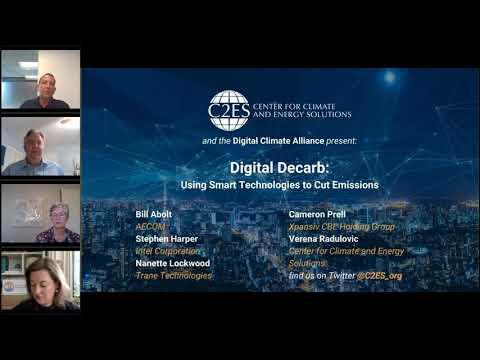 Webinar-Digital Decarb: Using Smart Technologies to Cut Emissions