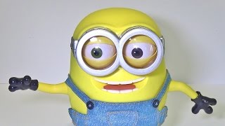 minion bob singing talking dancing and moving head eyes and feet