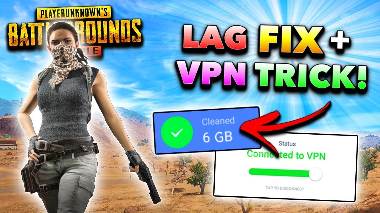 *UPDATED* HOW TO FIX LAG in PUBG Mobile! (MAX FPS Tips and Tricks, Low PING VPN Trick)
