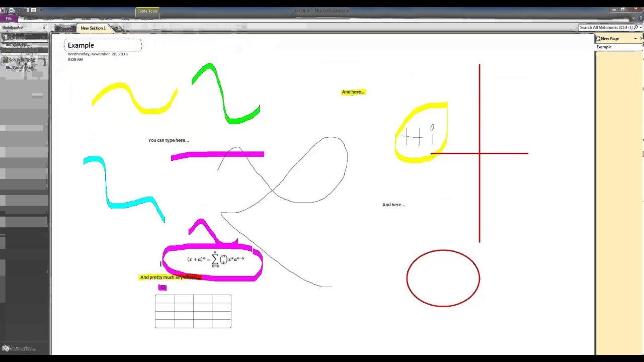 Microsoft OneNote 2010 Basic Tutorial