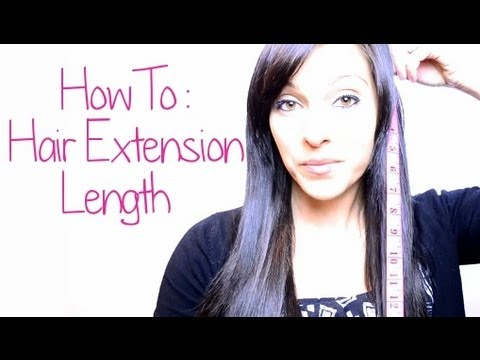 How To Choose Your Hair Extension Length Instant Beauty Youtube