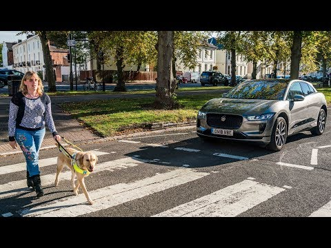 Jaguar I-PACE   Safety Sounds for the Visually Impaired