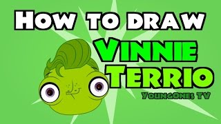 vinnie from littlest pet shop drawing lesson