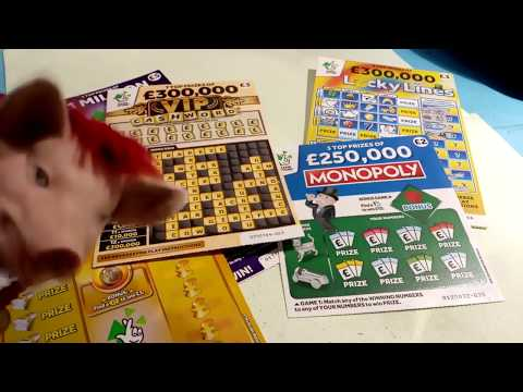 Scratchcard Saturday..V.I.P Cash word...Lucky Lines..Monopoly..250K ...Likes Needed Please???