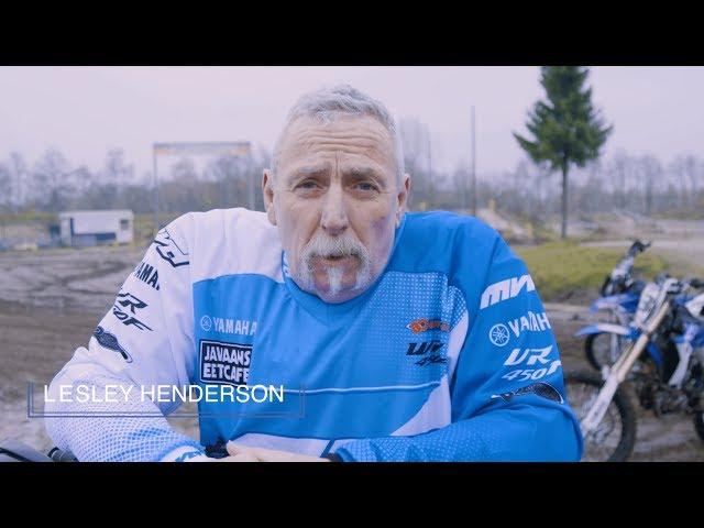 Off-road motor cursus: Droom komt uit voor de 63-jarige Lesley Henderson!